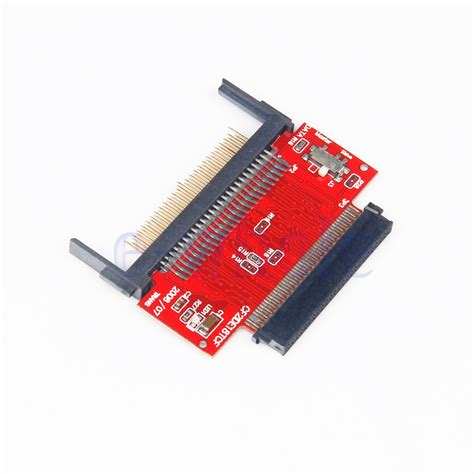 Casing Harddisk Ata compact flash cf to 1 8 quot 50pin hdd ata ide adapter with wt ebay