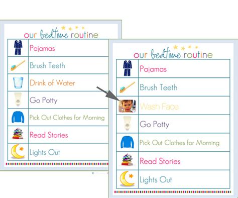 printable toddler routine chart we tried it routine charts routine chart parents and