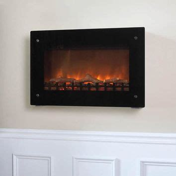 Wall Mounted Indoor Fireplace by Best Wall Mount Electric Fireplace Products On Wanelo