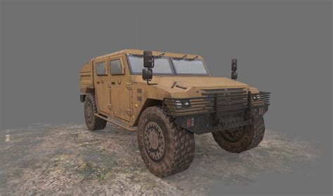 renault sherpa military 3d renault sherpa military vehicle