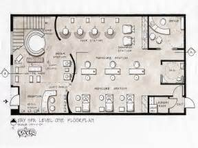 salon floor plans day spa level design stroovi