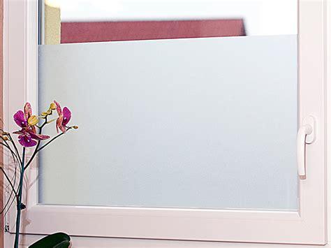 Folie Fenster Sichtschutz Baumarkt by Infactory Milchglasfolie Statisch Haftende Sichtschutz