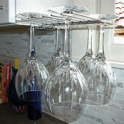 How To Make A Wine Glass Rack by Glass Hanger Wine Glass Drying Rack Wine Enthusiast