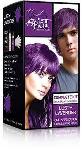 splat colors splat hair colorsplat kit lusty lavenderhair color kit