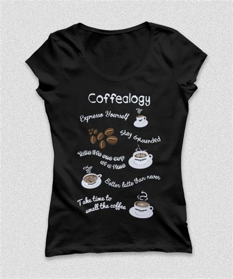 coffee shop t shirts design t shirt design coffea coffee for coffee lovers on behance