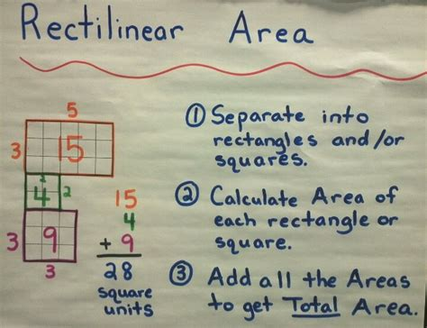 Rectilinear Shapes Worksheets