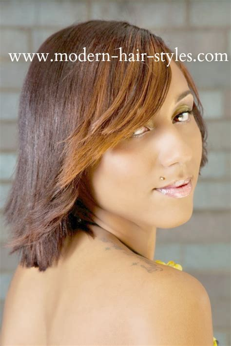 hair cut feathered ends black short hairstyles pixies quick weaves texturizers