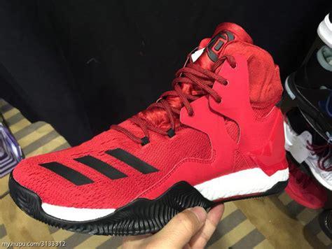 Sepatu Basket Adidas Drose D 7 White Black Putih Hitam Get A Detailed Look At The Upcoming Adidas D 7