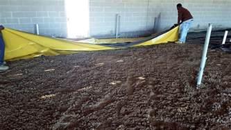 new construction crawl space moisture vapor barrier concrete retarder lightning underlayment