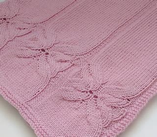butterfly baby blanket knitting pattern ravelry butterfly baby blanket pattern by