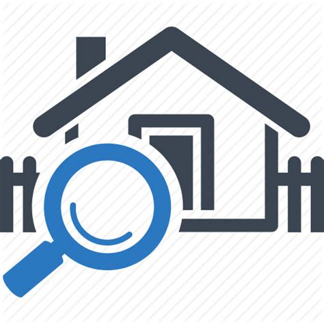 find home house real estate search home icon icon