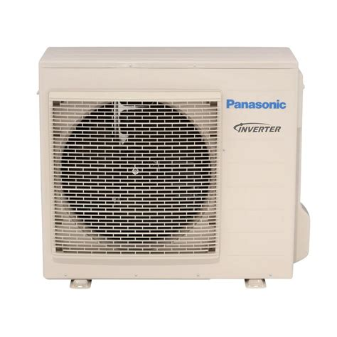 Ac Outdoor Panasonic panasonic 18 000 btu 1 5 ton ductless mini split air