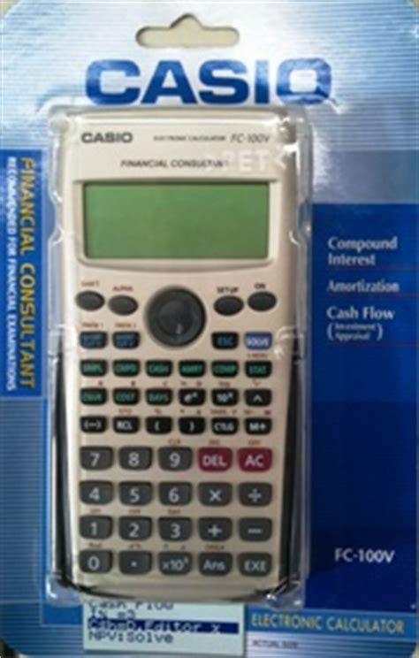 Casio Fc 100 V Fc100v casio fc 100v ordinateurs de poche calculatrices casio