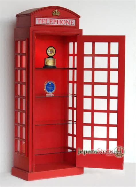 Lemari Telepon Inggris lemari pajangan telepon jeparastore