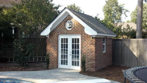 brick storage shed    build brick garden shed