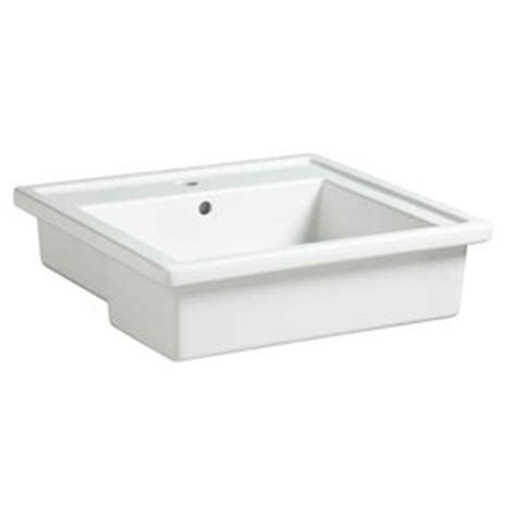 porcher bathroom sinks shop american standard porcher solutions white clay