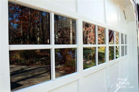 Remodelaholic 8 Diy Garage Door Updates Adding Windows To Garage Door
