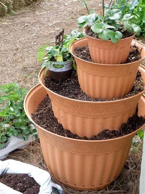 Tower Planter Pots by 25 Best Ideas About Flower Pot Tower On