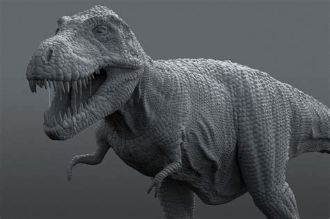 zbrush tutorial t rex t rex