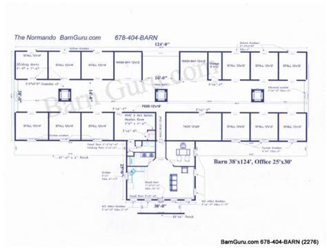 horse stable floor plans 6 stall horse barn floor plans