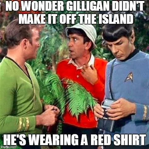 Island Meme - gilligan trek imgflip