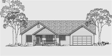 Three Plex Floor Plans by Craftsman House Plans For Homes Built In Craftsman Style
