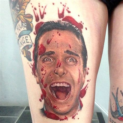 american psycho tattoo 40 best american psycho tattoos images on