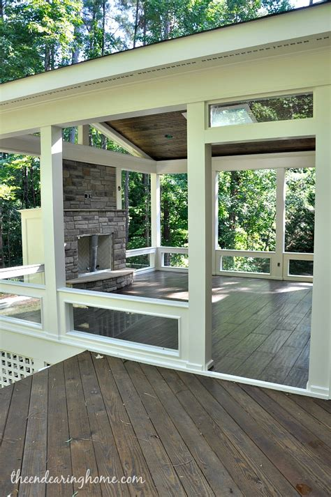 rear porch turning our back porch dreaming into a reality part 3