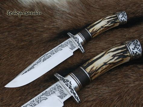 Pisau Bowie Custom Istimewa A02 1000 images about bowie knives on kevin casey damascus steel and handmade knives
