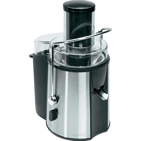 stainless steel juicer juicer clatronic ae 3532 1000 w stainless steel juice