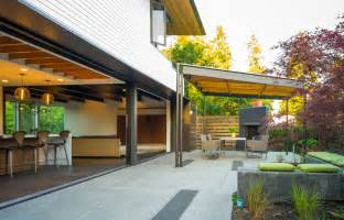 Mid Century Cabinets Inexpensive Patio Cover Ideas Patio Modern With Ceiling