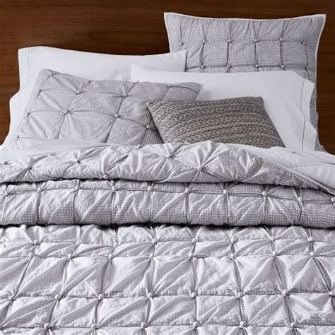 Knotted Quilt by Knotted Quilt Shams West Elm