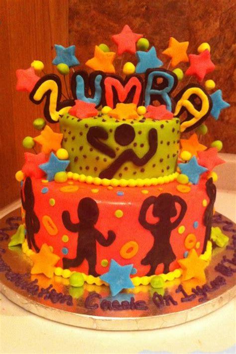 jenns fun cakes zumba cake