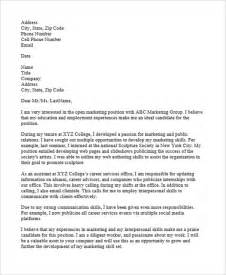 application letter with position 9 marketing application letter templates free word