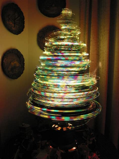 long exposure rotating tree d so cool christmas