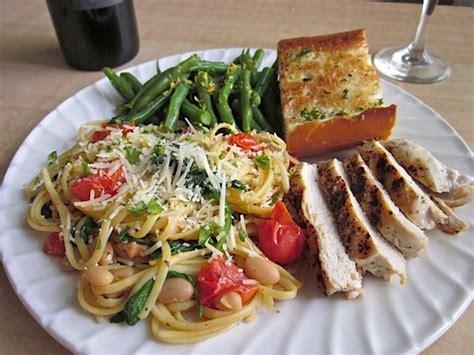 dinner meal tuscan pasta dinner budget bytes