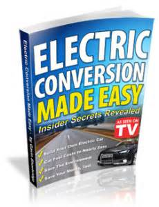 Electric Car Conversion Ebook Electric Powered Vehicles Electric Powered Vehicle