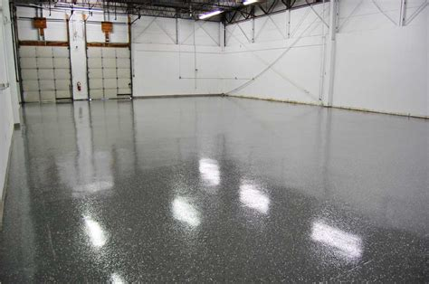 Black Epoxy Floor Coating by Gray Epoxy Floor With Black Marble Flakes By Witcraft