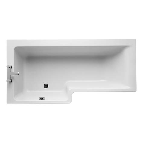 ideal standard concept shower bath buy ideal standard concept idealform l shaped shower bath