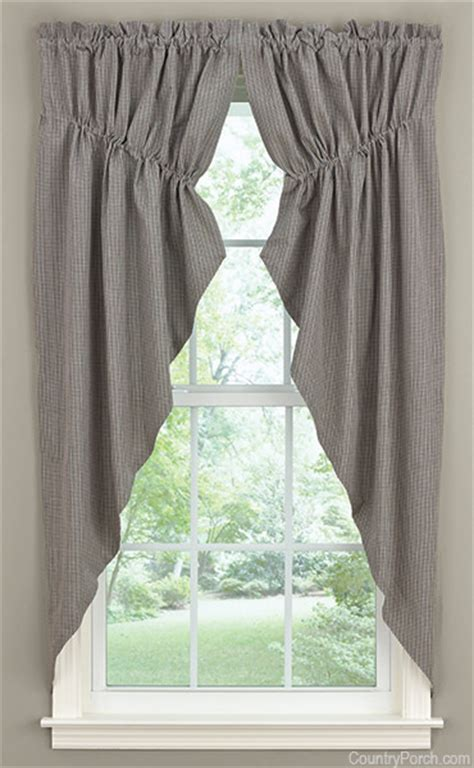 lined swag curtains jamestown lined gathered window curtain swag
