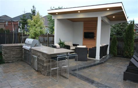 cabana backyard cedar cabana toronto custom concepts kitchens bathrooms wall units basements