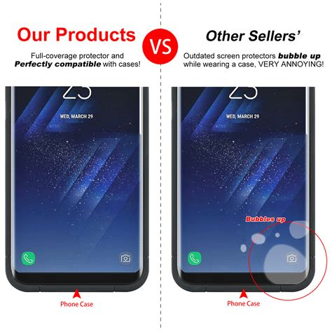nuglas galaxy s8 plus note 8 tempered glass cover screen protector samsung ebay