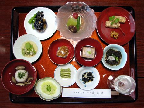 japanese dinner file japanese temple vegetarian dinner jpg wikimedia commons