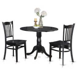Small Kitchen Dining Table And Chairs 3 Pc Small Kitchen Table And Chairs Set Kitchen Table And 2 Dinette Chairs Ebay