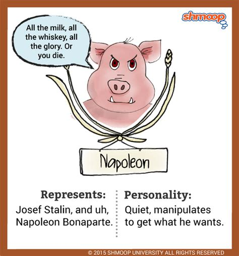 Napoleon The Pig Quotes power quotes in animal farm image quotes at relatably