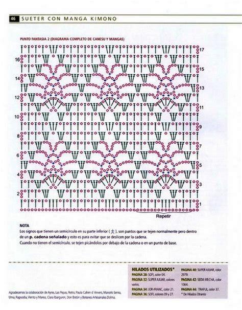 graficos de puntos calados de crochet puntos calados a crochet picasa imagui
