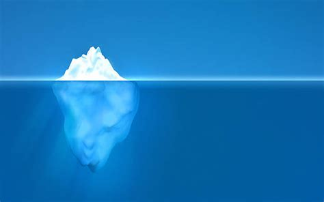clipart iceberg underwater clip vector images illustrations istock