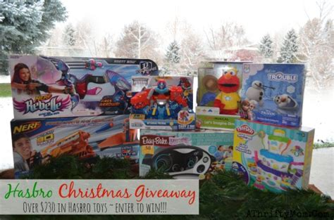 Free Toy Giveaways For Christmas 2014 - hasbro christmas toy giveaway enter to win 230 in toys giveaway ad a thrifty