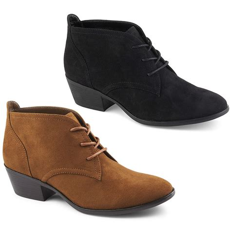 booties shoes xappeal womens lace up ankle bootie shoes ebay