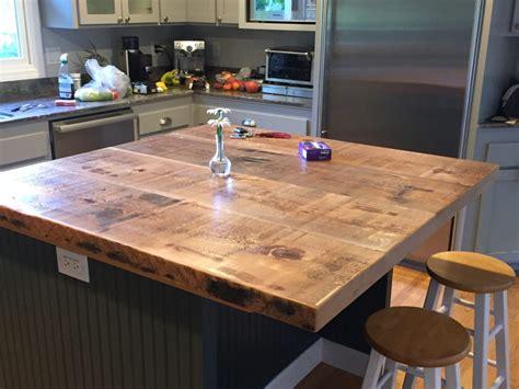 kitchen custom islands reclaimed wood island tops lowes